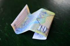 Denar macedonian curency , banknote Stock Photos