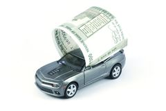 Car Loan, Car Insurance, Car Expenses Royalty Free Stock Photo