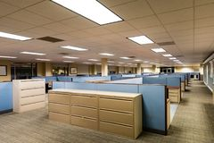 Empty Office Space Ready to Occupy Royalty Free Stock Image