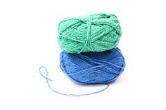 Image des boules de laine colorées Image stock