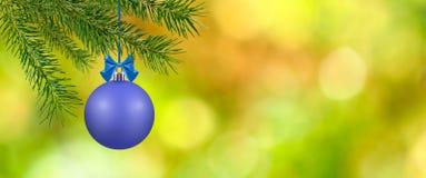 Image des boules de Noël Photos stock