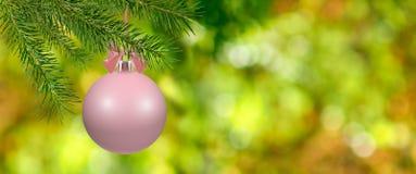 Image des boules de Noël Image stock
