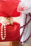 Image des cadeaux de luxe Vacances, concept de célébration image stock