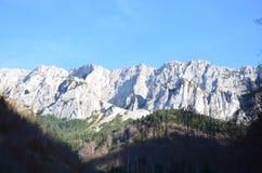 Image des Carpathiens orientaux, réservation naturelle de Piatra Craiului, Roumanie Photos libres de droits
