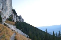 Image des Carpathiens orientaux, réservation naturelle de Piatra Craiului, Roumanie Images libres de droits
