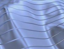 IMAGE DES COURBES ET DES LIGNES AU-DESSUS DE LA COULEUR TRANSPARENTE DOUCE ET BLEUE illustration libre de droits