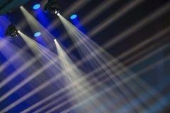 Image des effets de la lumière d'étape images libres de droits