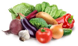 Image des légumes frais Images libres de droits