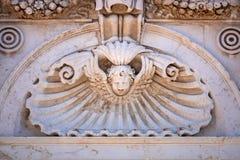 Detail at the Basilica della Santa Casa in Italy Marche. An image of details at the Basilica della Santa Casa in Italy Marche stock images