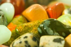 Image of different colorful stones close-up. Image of different colorful stones closeup Royalty Free Stock Image