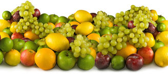Image of different fruits close-up Royalty Free Stock Images