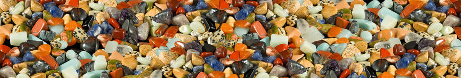 Image of different stones closeup Royalty Free Stock Image