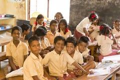 Image documentaire éditoriale Écoliers Photos libres de droits
