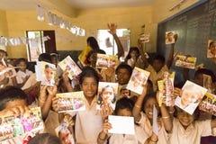 Image documentaire éditoriale Écoliers Photos stock
