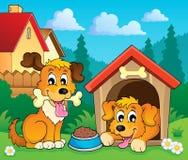 Image with dog theme 3 Royalty Free Stock Photo