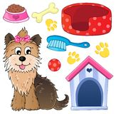 Image with dog topic 5 Royalty Free Stock Image