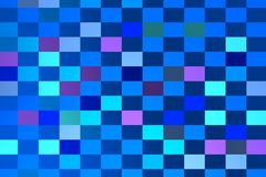 Blue composition with bluish squares Royalty Free Stock Photo