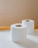 Image of double rolls of toilet paper Stock Image