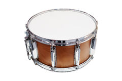 Image of drum. Under the white background stock image