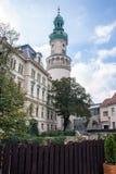 Image du centre ville de la ville historique de Sopron image libre de droits