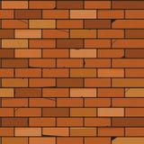 Image du mur sans couture des briques illustration libre de droits