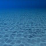 Sous la verticale de piscine d'eau Images libres de droits