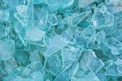 Image du verre de rebut pour réutiliser dans l'industrie, recy en verre cassé photo libre de droits
