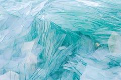 Image du verre de rebut pour réutiliser dans l'industrie, recy en verre cassé Images stock