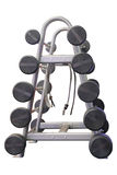 Image of the dumbbells Stock Photo