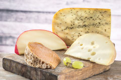 Image of dutch cheeses Royalty Free Stock Images