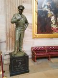 Dwight D. Eisenhower Statue in the US Capital Rotunda Stock Photography