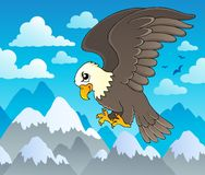 Image with eagle theme 1 Stock Images