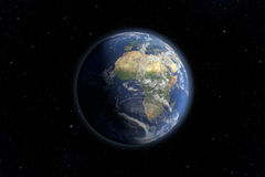 Earth view Royalty Free Stock Image
