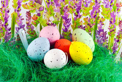 Image of easter eggs Royalty Free Stock Images
