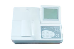 Image of an ECG machine Royalty Free Stock Photography