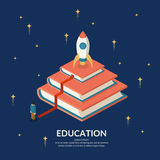 The image Education Infographics. Education Infographics. Conceptual  illustration on the theme of training and further education Royalty Free Stock Photo