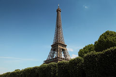 Image of Eiffel tower in Paris Royalty Free Stock Photo