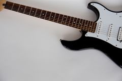 Electric guitar isolated Stock Photo