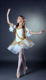 Image of elegant young ballerina posing at camera Stock Photography