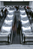 Elevator stair case - rush hour Royalty Free Stock Photography