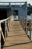 An image of an empty boat dock Royalty Free Stock Image