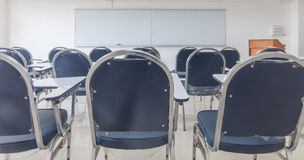 The image of empty classroom Royalty Free Stock Photo