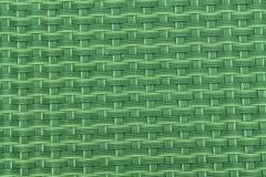 Image en gros plan verte de tapis noir de tiret avec des cellules de grille Photographie stock libre de droits