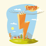 The Image about Energy royalty free illustration