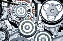 The image of an engine. royalty free stock photography