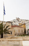 Image of Ermuopolis at Syros Royalty Free Stock Image