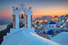 Oia, Santorini, Greece. Royalty Free Stock Photos