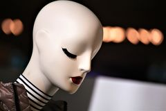 An Image of a Fashion Mannequin figure stock image