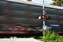 Speeding Train stock photos