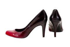Image of female heels on a white background Stock Photo